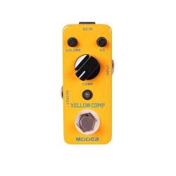 Mooer MCS2 Yellow Comp Compressor Pedalı