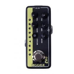 Mooer UK Gold 900 Micro Preamp Pedalı