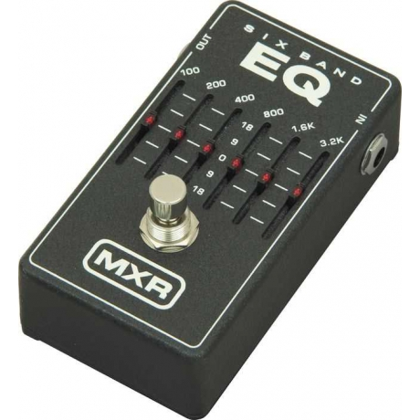 mxr m109 6 band graphic eq pedal doremusic. Black Bedroom Furniture Sets. Home Design Ideas