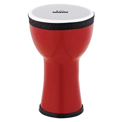 Nino Elements Mini 6 Inch Djembe (Fire Engine Red)