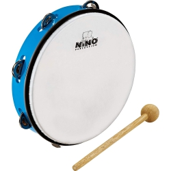 Nino NINO24SB Abs 10 Inch Tambourine Jingle Drum