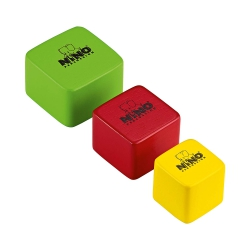 Nino NINO507 Wood Shaker Square (3lü Set)