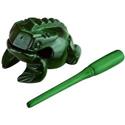 Nino NINO513GR Small Wood Frog Güiro  (Yeşil)