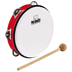 Nino NINO51R Abs 8 Inch Tambourine Jingle Drum