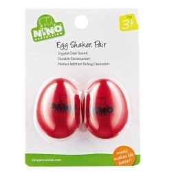 Nino NINO540R-2 2li Paket Egg Shaker (Kırmızı)