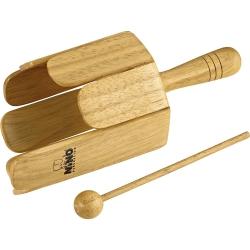 Nino NINO556 Wood Stirring Drum (Natural)