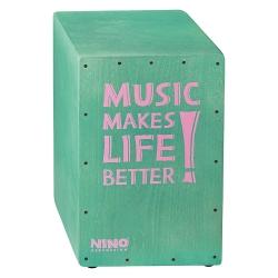 Nino NINO952TU Better Life Series Cajon (Turquoise)