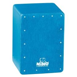 Nino NINO955B Mini Cajon Shaker (Mavi)