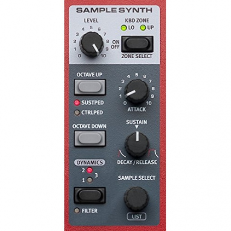 Nord Electro 6D 61 Synthesizer<br>Fotoğraf: 6/7