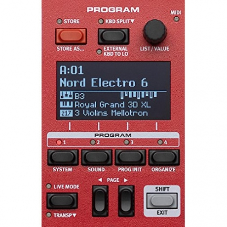 Nord Electro 6D 73 Synthesizer<br>Fotoğraf: 4/7
