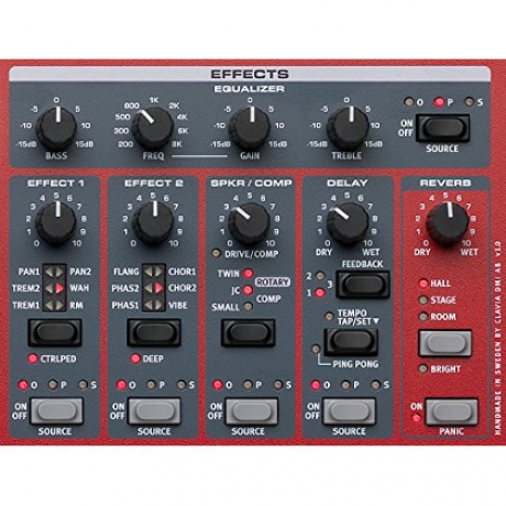 Nord Electro 6D 73 Synthesizer<br>Fotoğraf: 7/7