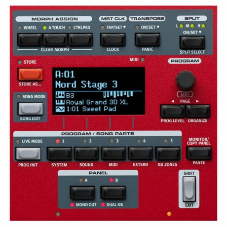 Nord Stage 3 Compact Synthesizer<br>Fotoğraf: 8/8