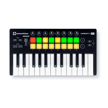 Novation Launchkey Mini Mk2 Midi Klavye<br>Fotoğraf: 1/4