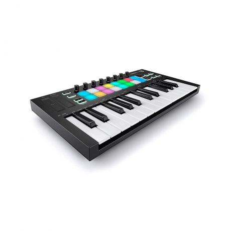 Novation Launchkey Mini MK3 Midi Klavye<br>Fotoğraf: 2/3