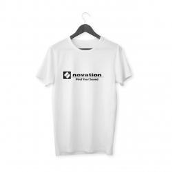 Novation Logo T-Shirt (Beyaz)