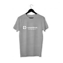 Novation Logo T-Shirt (Gri)