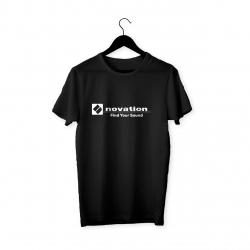 Novation Logo T-Shirt (Siyah)