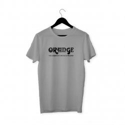 Orange Logo T-Shirt (Gri)