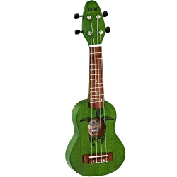 Ortega K1-GR Sopranino  Ukulele (Keiki Turtle Forrest Green)