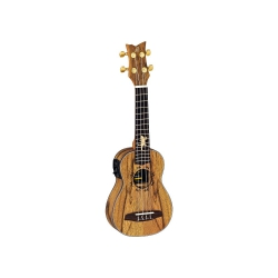 Ortega LIZARD-SO-GB Elektro Soprano Ukulele (Lizard)