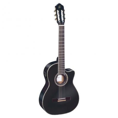 Ortega RCE141BK Elektro Klasik Gitar (Siyah)<br>Fotoğraf: 1/2