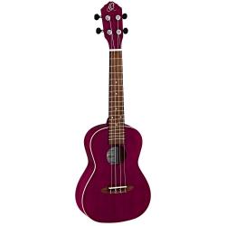 Ortega RURUBY Concert Ukulele (Transparent Purple)