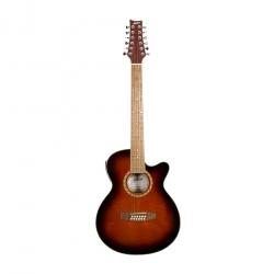 [Outlet] Ashton SL29/12CEQ 12 Telli Elektro Akustik Gitar (Tobacco Sunburst)
