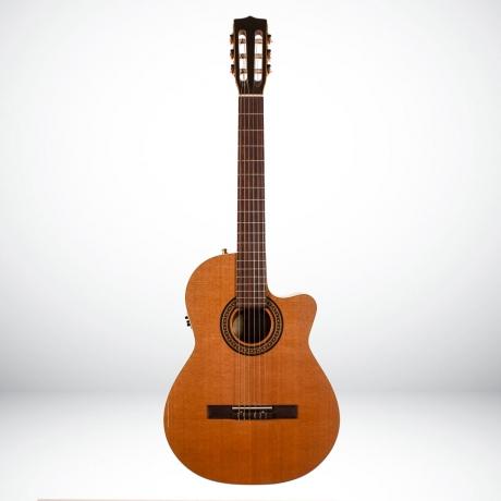[Outlet] La Patrie Concert Qi Elektro Klasik Gitar<br>Fotoğraf: 1/3
