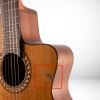 [Outlet] Prudencio Saez 52 Sapele Cutaway Elektro Klasik Gitar<br>Fotoğraf: 3/4