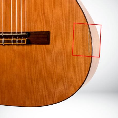 [Outlet] Prudencio Saez Sapele 2A Klasik Gitar<br>Fotoğraf: 3/3
