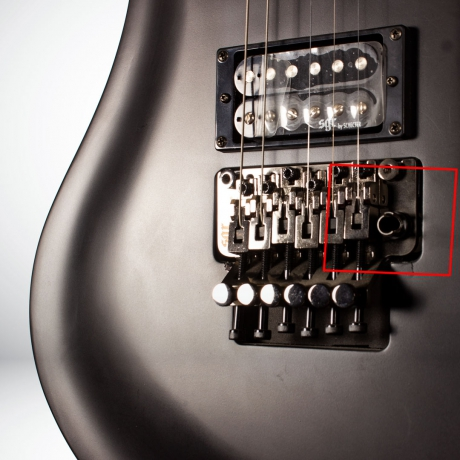 [Outlet] Schecter Sgr Avenger Fr Elektro Gitar (Midnight Satin Black)<br>Fotoğraf: 3/4