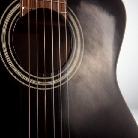 [Outlet] Takamine EG128SC Elektro Klasik Gitar (Siyah)<br>Fotoğraf: 3/3