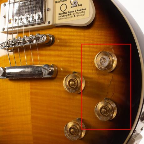 [Outlet]Epiphone Les Paul Ultra-III Elektro Gitar (Vintage Sunburst)<br>Fotoğraf: 3/4