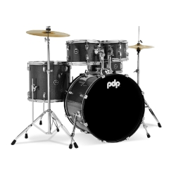 PDP Drums centerstage 20 Inch 5-Parça Akustik Davul Seti (Iridescent Black Sp...
