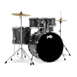 PDP Drums centerstage 22 Inch 5-Parça Akustik Davul Seti (Iridescent Black Sp...