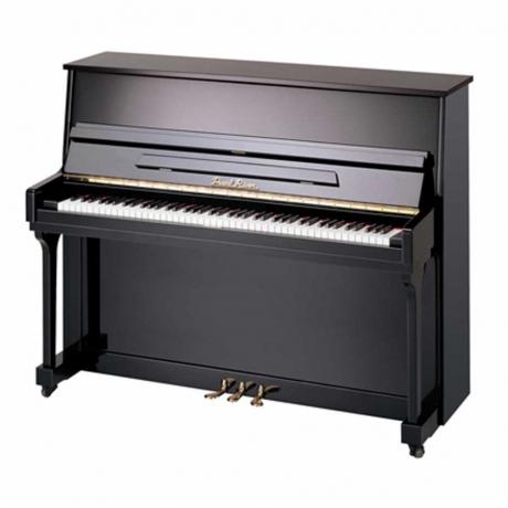 Pearl River UM115M Silent Akustik Duvar Piyanosu (Parlak Siyah)<br>Fotoğraf: 1/1