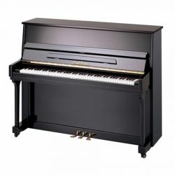 Pearl River UM115M Silent Akustik Duvar Piyanosu (Parlak Siyah)