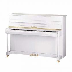Pearl River UP115M2 Akustik Duvar Piyanosu (Parlak Beyaz)