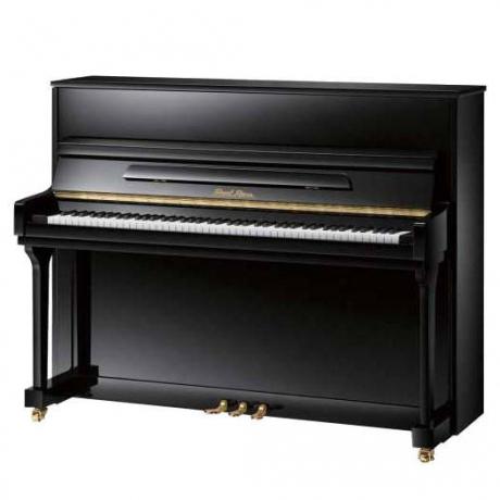 Pearl River UP115M2 Akustik Duvar Piyanosu (Parlak Siyah)<br>Fotoğraf: 1/1