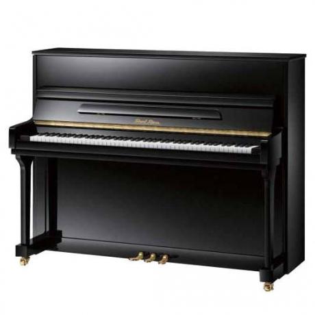 Pearl River UP115M5 Akustik Duvar Piyanosu (Parlak Siyah)<br>Fotoğraf: 1/1