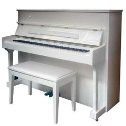 Pearl River UP118M Akustik Duvar Piyanosu (Parlak Beyaz)