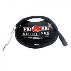 Pig Hog 1 Metre XLR Mikrofon Kablosu