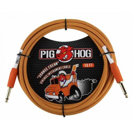 Pig Hog 3 Metre Cable Orange Creme Ensturman Kablosu<br>Fotoğraf: 1/2