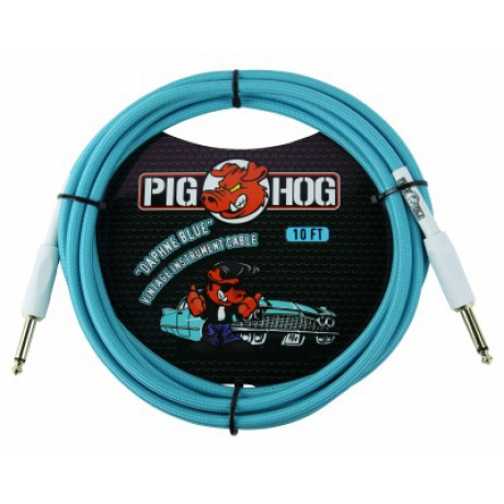 Pig Hog PCH10DB Daphne Blue Enstürman Kablosu (3 m)<br>Fotoğraf: 1/1