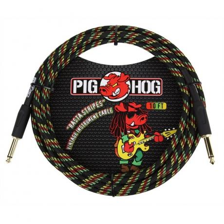 Pig Hog PCH10RA 3 Metre Enstrüman Kablosu<br>Fotoğraf: 1/2