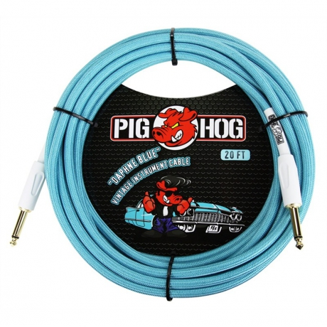 Pig Hog PCH20DB 6 Metre Enstrüman Kablosu<br>Fotoğraf: 1/2