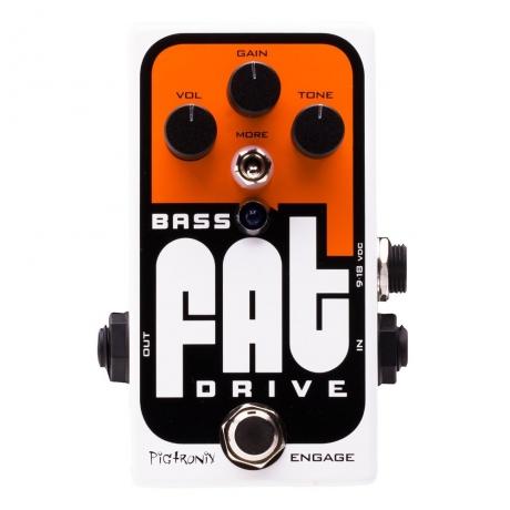 Pigtronix BOD FAT Drive Bas Pedalı<br>Fotoğraf: 1/2