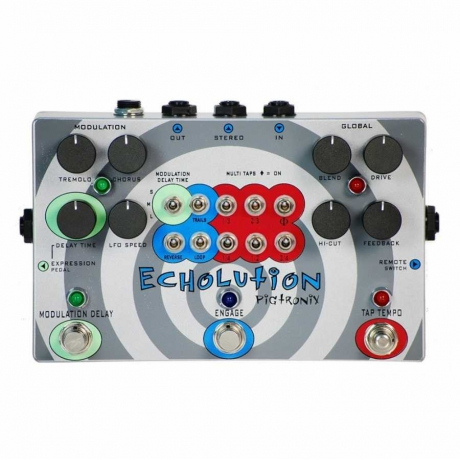 Pigtronix Echolution Analog Delay Pedalı<br>Fotoğraf: 1/1