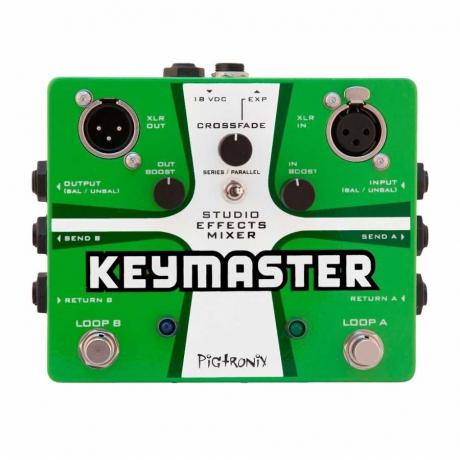 Pigtronix Keymaster Effects Mixer Pedalı<br>Fotoğraf: 1/1