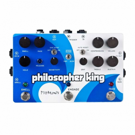 Pigtronix Philosopher&apos;s King Compressor & Sustainer Pedalı<br>Fotoğraf: 1/1